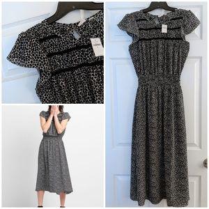 🛍️ Printed Midi Dress